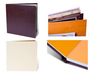 формат книги в обложке из искуственной кожи